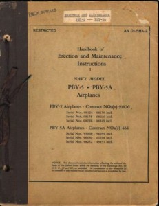 Erection and Maintenance Instruction 1 PBY-5 - 5A