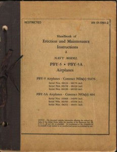 Erection and Maintenance Instruction 2 PBY-5 - 5A