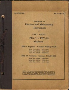 Erection and Maintenance Instruction 3 PBY-5 - 5A1