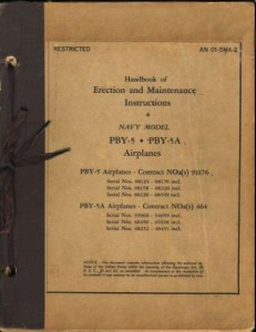 Erection and Maintenance Instruction 4 PBY-5 - 5A