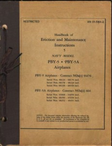 Erection and Maintenance Instruction PBY-5 - 5A