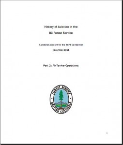 History of Aviation in the BC Forest Service