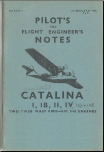 Pilot and Flight Engineers notes