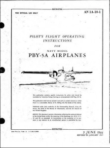 Pilots Flight Operating Instructions PBY-5A-rev 1945